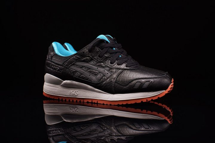 ASICS Gel Lyte III 'Miami Vice' Pack (Black/White/Orange/Turquoise)
