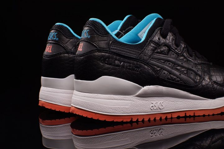 ASICS Gel-Lyte III 'Miami Vice' Pack (Black-White/Orange/Turquoise)-2