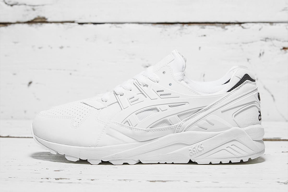 Asics GEL Kayano Trainer (White/Blanc) - Printemps 2015