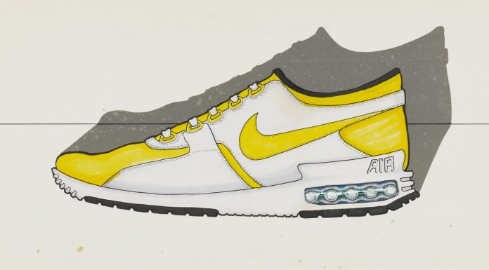 Sketch Nike Air Max Zero Croquis
