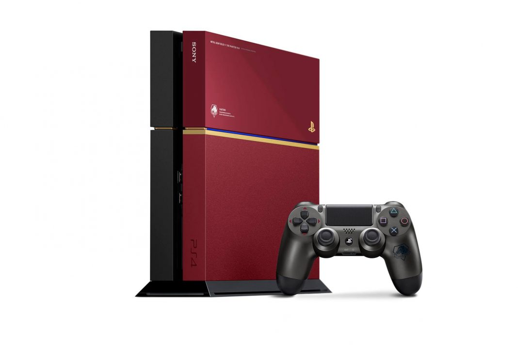 PlayStation 4 Metal Gear Solid V : The Phantom Pain Edition-1