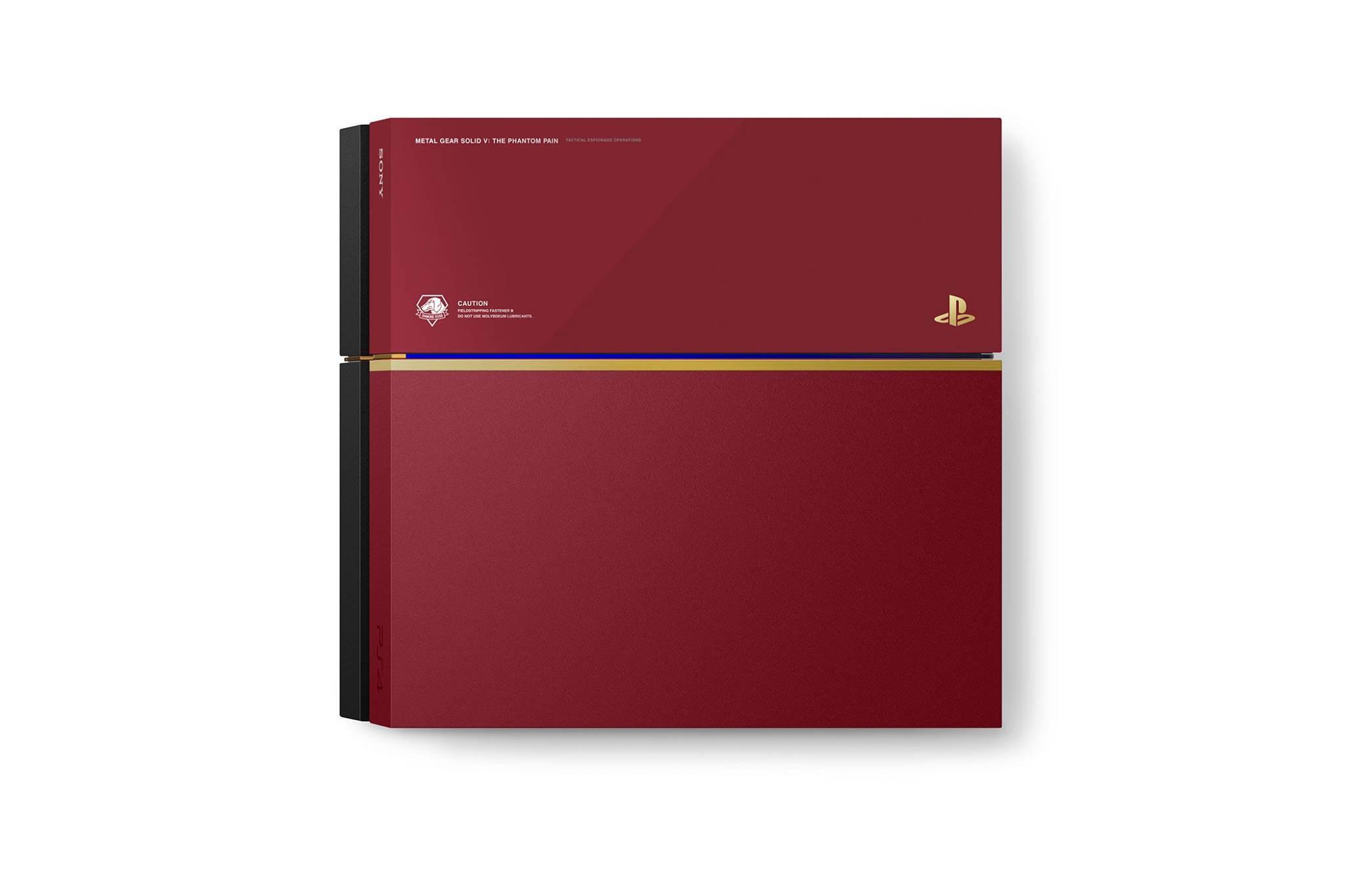 PlayStation 4 Metal Gear Solid V : The Phantom Pain Edition-2