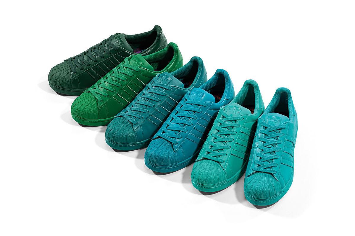 Adidas Superstar Pharrell Jaune