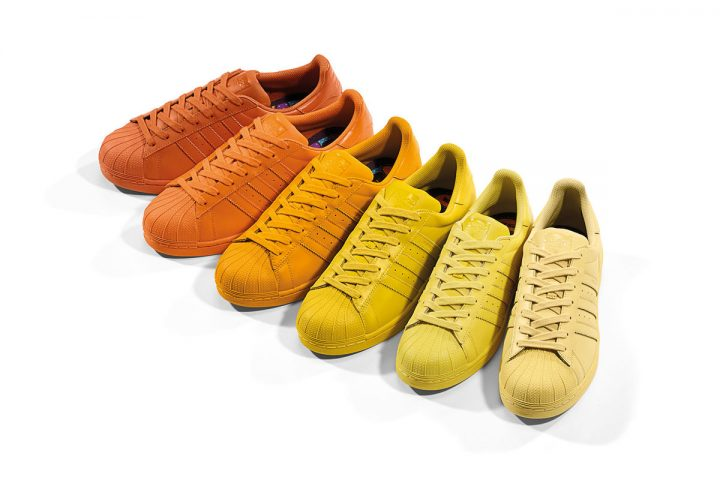adidas-Originals-x-Pharrell-Supercolor-Superstar-Pack-Yellow-Orange