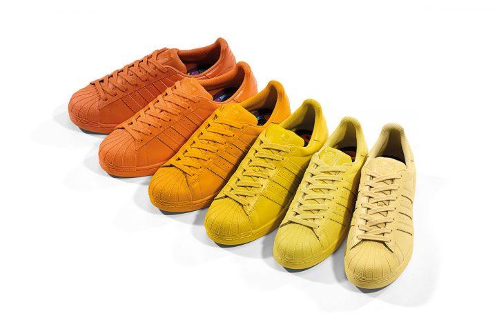 adidas-Originals-x-Pharrell-Supercolor-Superstar-Pack-Yellow-Orange