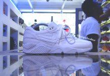 Nike Air Max 1 x Huarache White HYBRID Custom par KONGLEFOUDEUR1
