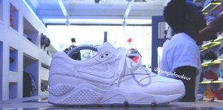 Nike Air Max 1 x Huarache White 'HYBRID' Custom par KONGLEFOUDEUR