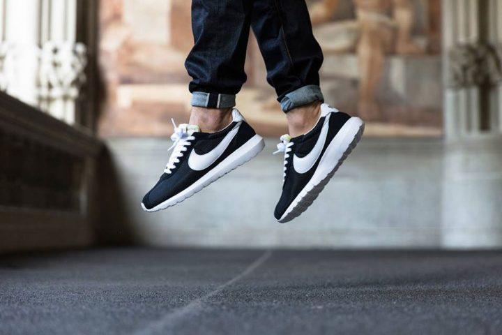 Nike Roshe LD-1000 QS (Black/White-White)-3