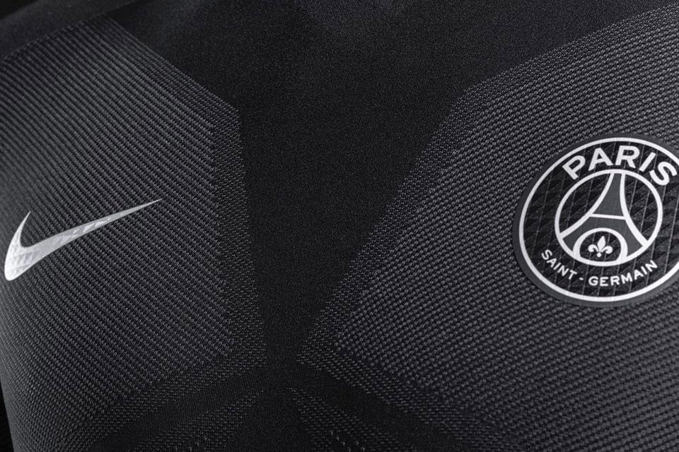 Maillot PSG Nike 'Dark Light' 2015/2016 (Noir/Rose)-3