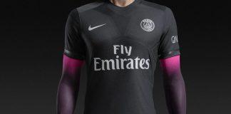 Maillot PSG Nike 'Dark Light' 2015/2016 (Noir/Rose)