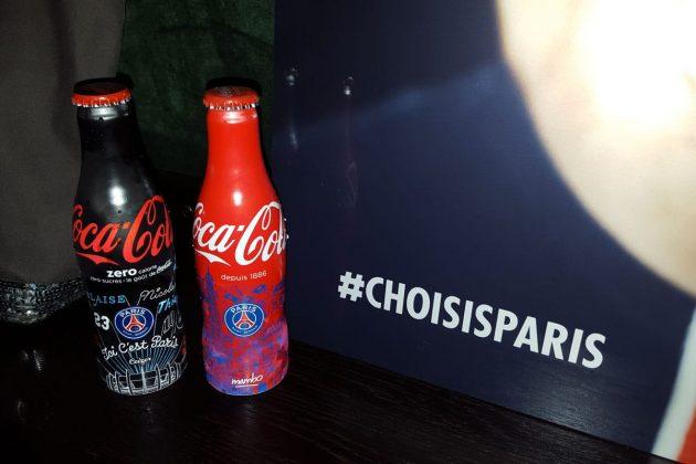 Bouteille Coca-Cola x PSG Soiree de lancement-6