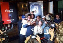 Bouteille Coca-Cola x PSG Soiree de lancement - colette