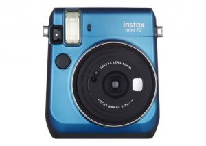 Fujifilm Instax mini 70-Bleu-Blue-Polaroid
