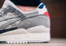 INVINCIBLE x ASICS Gel-Lyte III Formosa Lookbook 2015