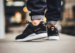 ASICS Gel-Lyte III 'Rose Gold' Pack Black