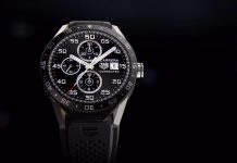 Montre Tag Heuer Carrera Connected Black