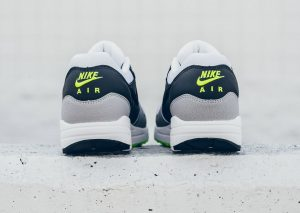 Nike Air Max 1 ESSENTIAL (White/Dark Grey/Volt)-1