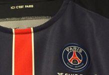 maillot PSG je suis Paris contre Lorient