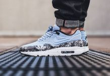 Nike Air Max 1 Ultra Moire (Aluminum Black Dusty Grey)-2