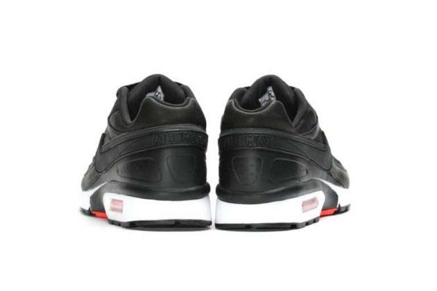 Nike Air Max BW Premium 'BLACK BRIGHT CRIMSON'-2