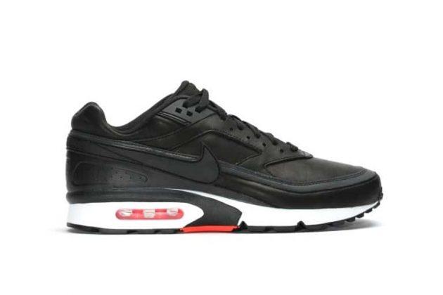 Nike Air Max BW Premium 'BLACK BRIGHT CRIMSON'