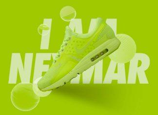 Nike Air Max Zero iD Volt Neymar