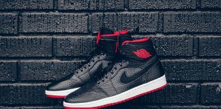 Air jordan 1 Retro High Nouveau (BlackGym/Red)