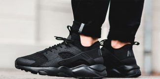 Nike Air Huarache Run (Noir/Black)
