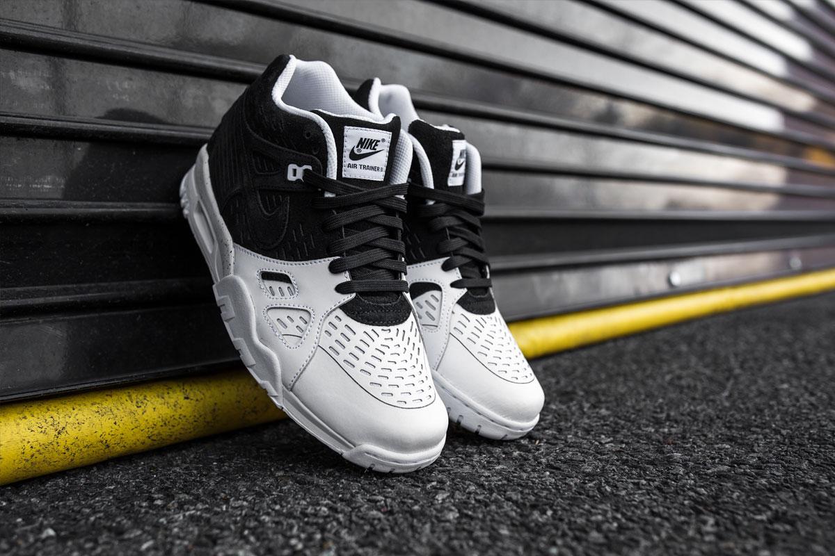 Nike Air Trainer 3 LE – Black/Black/White -1