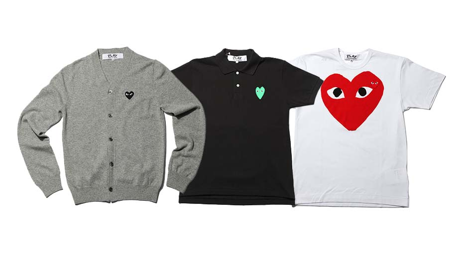 Comme des garcons Play - collection 2010