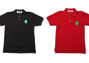 Polo Comme des garcons Play collection 2010