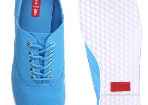 Chaussures Lacoste Ronne plimsoll bleu