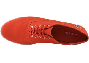 Chaussures Lacoste Ronne rouge collection 2010