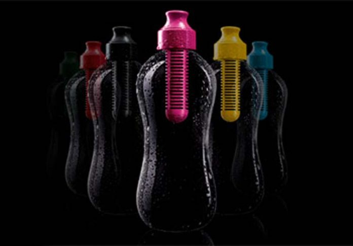 bouteille karim rashid booble filtered water bottle