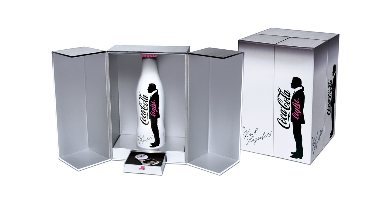 Coffret Karl Lagerfeld Coca Cola Light