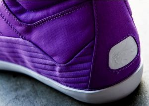 Chaussure Lacoste Stealth Chevel Hi RS - violet