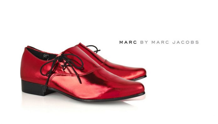 Chaussures Marc by Marc Jacobs Patent Leather Brogues