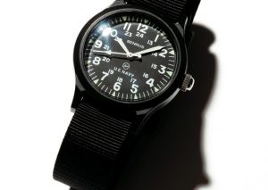 uniform experiment x benrus military watch