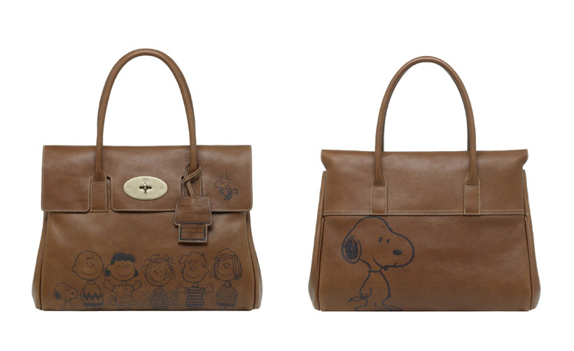 sac MULBERRY x PEANUTS 60th anniversary