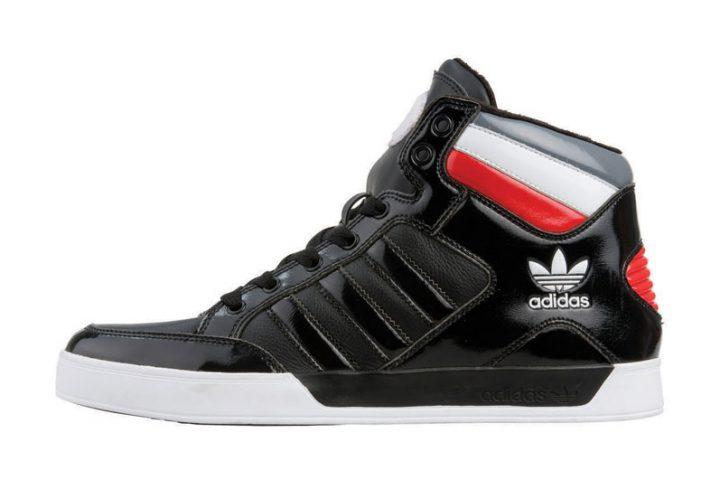 adidas Hardcourt Mid Noir-rouge