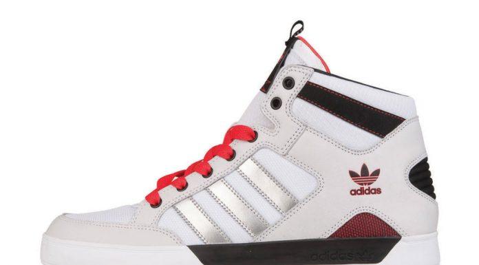 adidas Hardcourt Mid blanc-Metallic