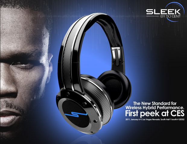 Casque Sleek par 50 cent