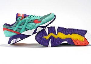 Classic Kicks NYC x Puma R698 Seafoam/Purple/Infrared