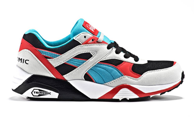 Classic Kicks x Puma R698 Grey/Black/Red/Teal