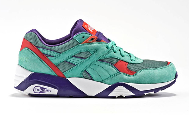 Classic Kicks x Puma R698 Seafoam/Purple/Infrared