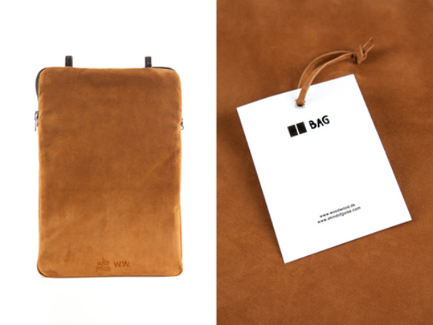 Wood Wood x AKOG Double Denim Bag