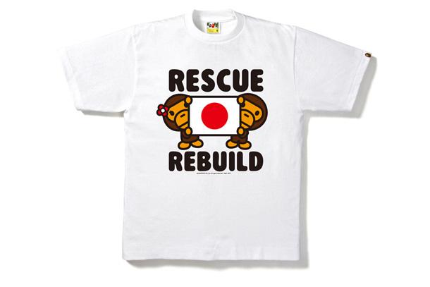 Bape - Japan Charity T-Shirts Women