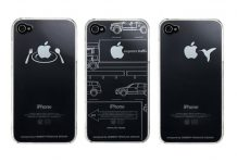 Coque iPhone 4 Idea Label iTattoo