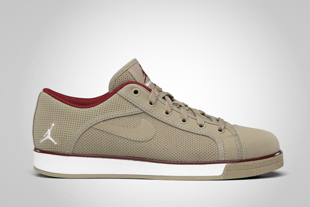 Jordan Sky High Retro Low Khaki-White-Team-Red