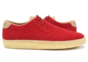 Concepts x Clarks Originals Ashcott rouge/red